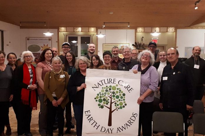 The second annual Nature Care Earth Day Awards were held on May 1, 2019 at Camp Kawartha Environment Centre. (Photo: Green Party of Peterborough-Kawarthas / Facebook)
