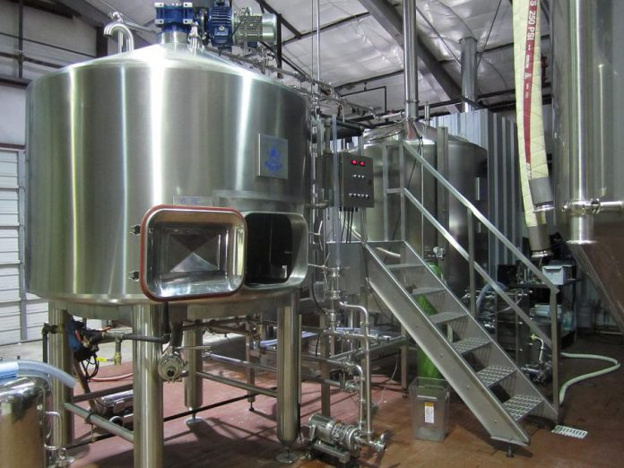 On May 7, 2019, Fenelon Falls Brewing Co. is scheduled to receive a brewhouse and cellar custom-made from Canadian company Criveller Group that will be delivered from Niagara Falls. Pictured in a sample of the type of equipment Criveller Group supplies for  the brewing industry. (Photo: Criveller Group)