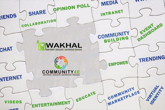 Peterborough tech startup  Wakhal has officially launched its digital community-building platform called Community4E. (Graphic courtesy of Innovation Cluster)