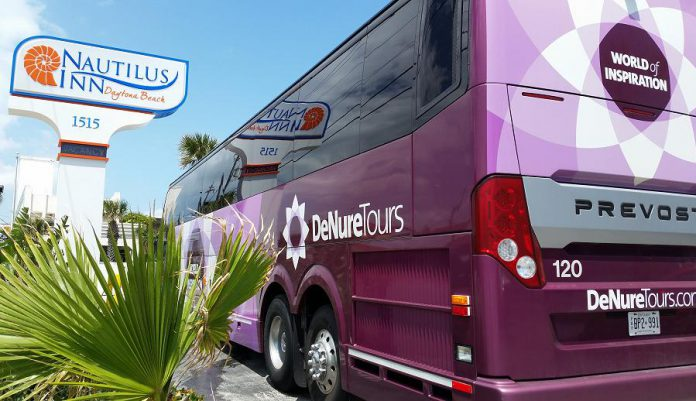 DeNureTours will get you to your Florida and South Carolina destination by the travel mode that best suits you, whether by flying or travelling in their comfortable luxury motorcoach (pictured here) that gets you there in a day and a half. (Supplied photo)
