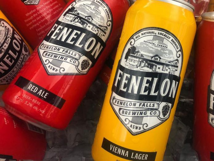 Fenelon Falls Brewing Co. flagship brews (Fenelon Vienna Lager and Fenelon Red Ale) are already sold in select LCBO outlets and grocery stores. (Photo: Fenelon Falls Brewing Co.)