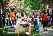 The 2019 Great Gilmour Street Garage Sale takes place on Saturday, May 25th from 9 a.m. to 1 p.m. (Photo: Linda McIlwain)