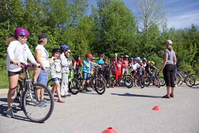 Pedal Power will run in five local schools this spring. The program teaches bike handling and safety skills to create more confident and competent young riders. (Photo: Lindsay Stroud)