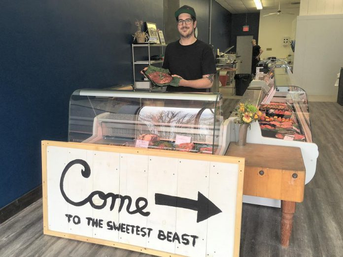 Sweet Beast Butcher Shop is now open for business. (Photo: Eva Fisher / kawarthaNOW.com)