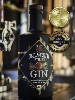 Black's Distillery recently won medals at two international competitions for their gin. (Photo: Black's Distillery)