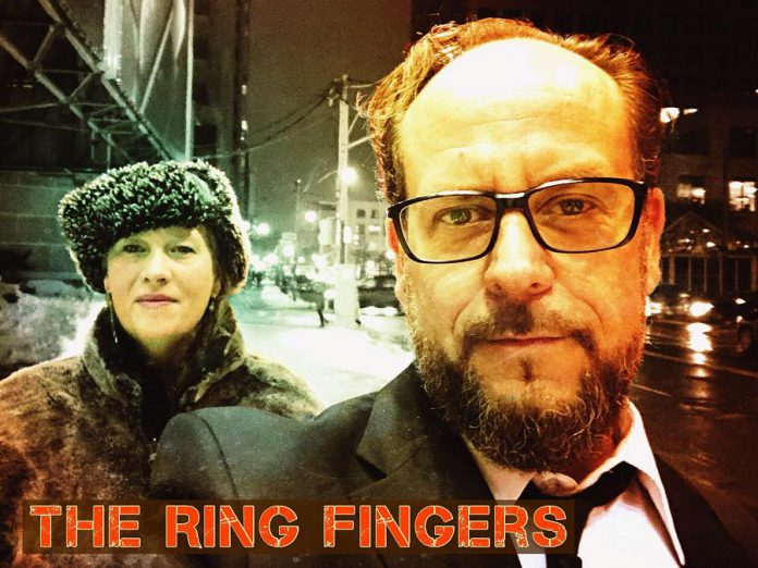 The Ring Fingers are Stacy Anderson and Marc Novoselec. (Photo: The Ring Fingers)