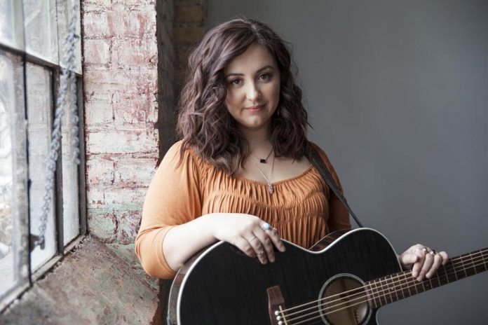 """Hamilton folk singer-songwriter Gillian Nicola, who has just released her debut record """"Dried Flowers"""", performs at The Garnet in downtown Peterborough on Wednsdsay, May 22nd, with special guest Evangeline Gentle. (Publicity photo)"""
