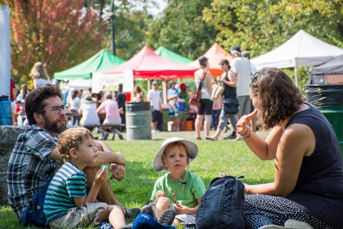 Enjoy vegan food and celebrate a plant-based lifestyle at Peterborough VegFest in  Millennium Park in downtown Peterborough on September 15, 2019. (Photo courtesy of Peterborough DBIA)
