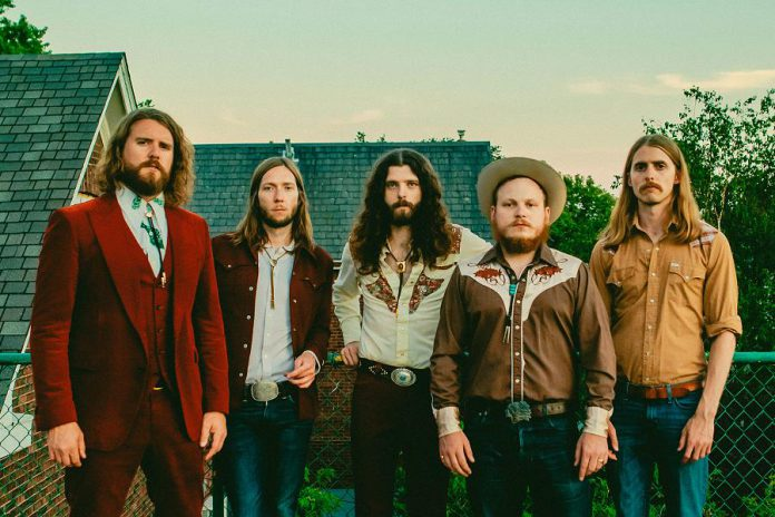 Canadian rockers The Sheepdogs, whose latest member is Baileboro's own Jimmy Bowskill (second from right), will be performing at Peterborough Musicfest at Del Crary Park in downtown Peterborough on Wednesday, July 24th. (Publicity photo)