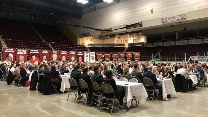 The Peterborough Petes held its annual year-end awards banquet on May 10, 2019 at the Peterborough Memorial Centre. (Photo: Peterborough Petes)