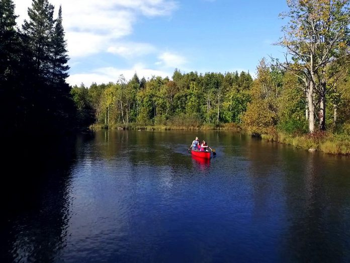 One of the major attractors to the region is the area's outdoor experiences: paddling, cycling, camping, fishing, and boating. (Photo courtesy of Peterborough & the Kawarthas Economic Development)