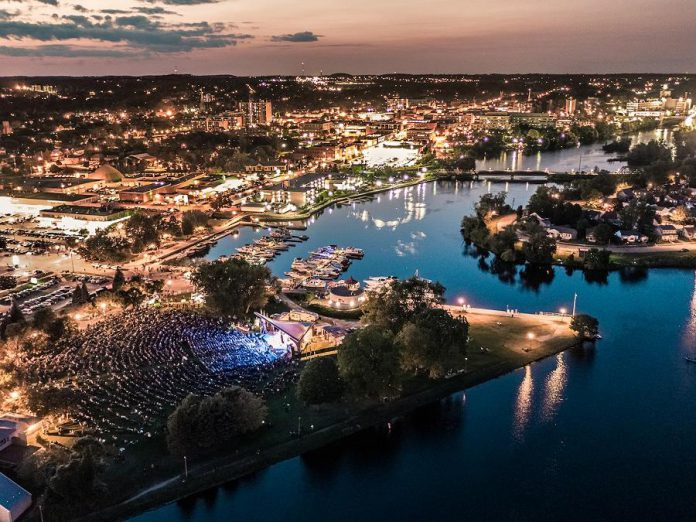 National Tourism Week, running from May 26 to June 2 and officially kicking off the summer tourism season, will shine a spotlight on Peterborough & the Kawarthas booming tourism industry and the economic impact on the region. Every summer, Peterborough Musicfest at Del Crary Park in vibrant downtown Peterborough features a line-up of musicians that draws thousands of visitors. (Photo courtesy of Peterborough & the Kawarthas Economic Development)