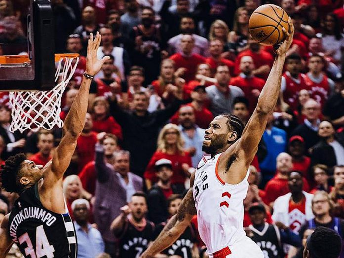 Cineplex and Maple Leaf Sports & Entertainment are offering free viewing parties of the 2019 NBA Finals at 33 Cineplex theatres across Canada. (Photo: Raptors / Facebook)