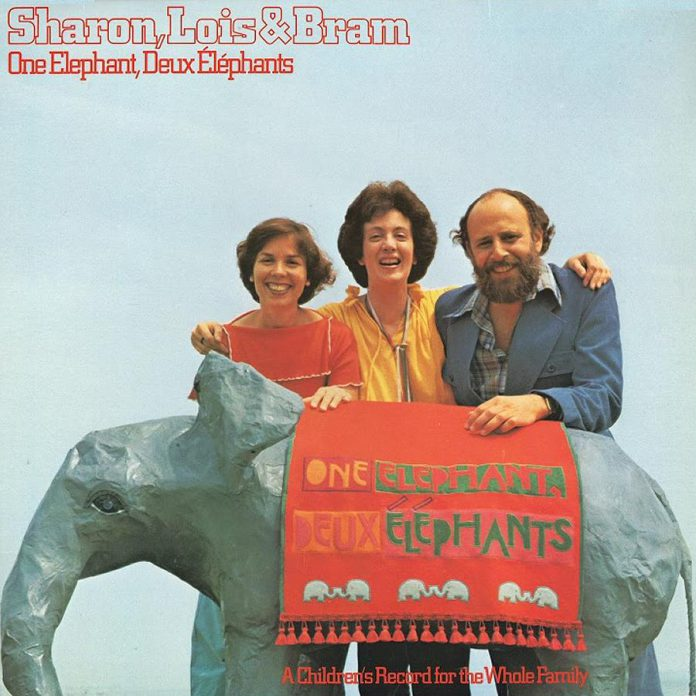 "Sharon, Lois & Bram self-financed their first record, ""One Elephant, Deux Elephants"", in 1978. It became the fastest-selling children's record in Canada."