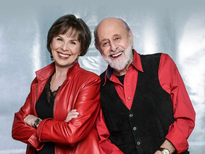 "Retiring from touring after more than 40 years, Sharon Hampson and Bram Morrison will be performing in ""Sharon, Bram & Friends: 40th Anniversary Farewell Tour"" at Showplace Performance Centre in downtown Peterborough on May 15, 2019. (Publicity photo)"