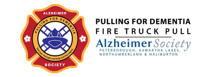 Team registration is open now for the 2019 Pulling for Dementia Fire Truck Pull on September 13, 2019. Teams must raise a minimum of $1,000 to participate in the pull. (Graphic: Alzheimer Society of PKLNH)