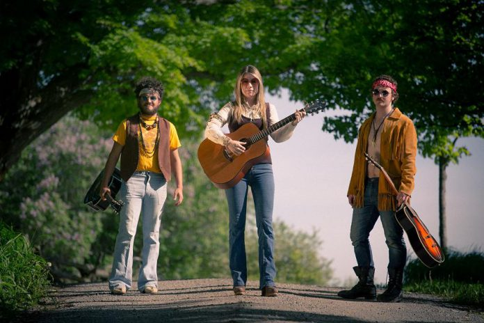 """Starring Griffin Clark, Kate Suhr, and Owen Stahn, """"Bloom: A Rock 'n' Roll Fable"""" runs Tuesdays to Saturdays in July at The Winslow Farm in Millbrook. (Photo: Wayne Eardley / Brookside Studio)"""