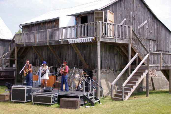 """Although """"Bloom: A Rock 'n' Roll Fable"""" is not a musical, director Kim Blackwell says live music is at its foundation and there will be a rock 'n' roll concert in the middle of the play. (Photo: Jeannine Taylor / kawarthaNOW.com)"""