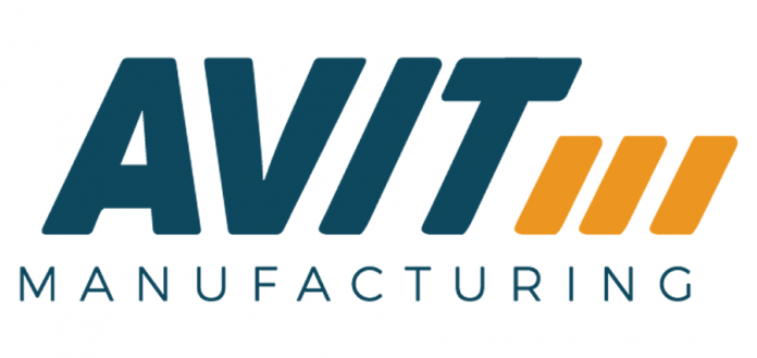 The logo of Peterborough custom machinery company AVIT Manufacturing, formerly Steelworks Design, was developed with marketing agency Mega Experience. (Logo courtesy of AVIT Manufacturing)