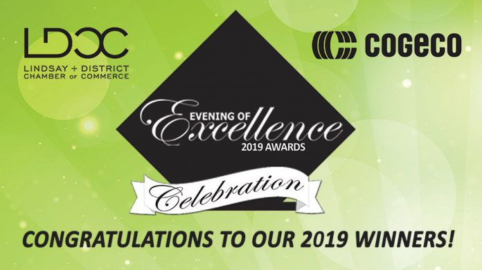 Lindsay & District Chamber of Commerce announces Evening of Excellence awards