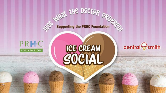 "Central Smith Creamery's ""Ice Cream Social"" on July 20, 2019 is a fundraiser for PRHC Foundation. (Graphic: Central Smith Creamery / Facebook)"