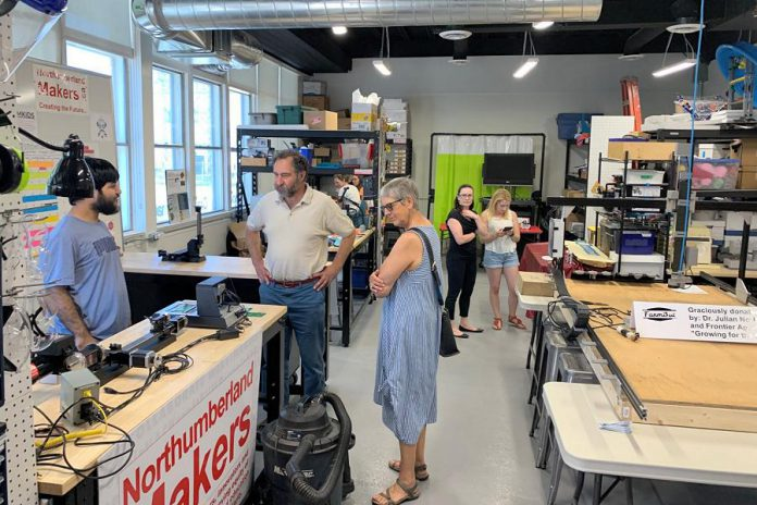 Northumberland Makers celebrated the one-year anniversary  of MakerLab with an open house on June 22, 2019. (Photo: Venture13 / Facebook)