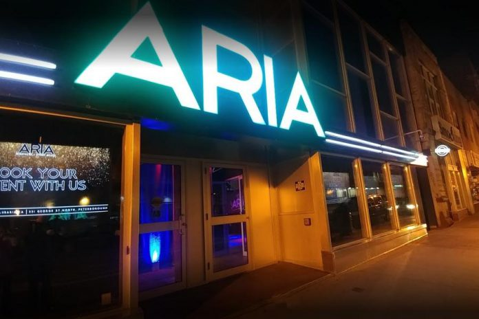 The ARIA nightclub in downtown Peterborough has closed. (Photo: Google Maps)