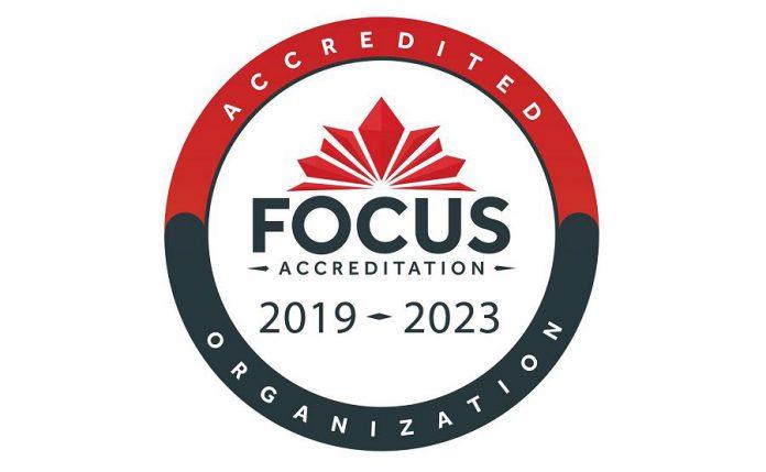 FOCUS accreditation award