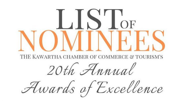 Kawartha Chamber nominees for 2019 Awards of Excellence