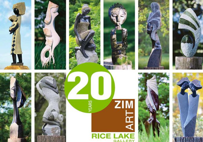 ZimArt's Rice Lake Gallery is celebrating its 20th season in 2019. (Supplied image)
