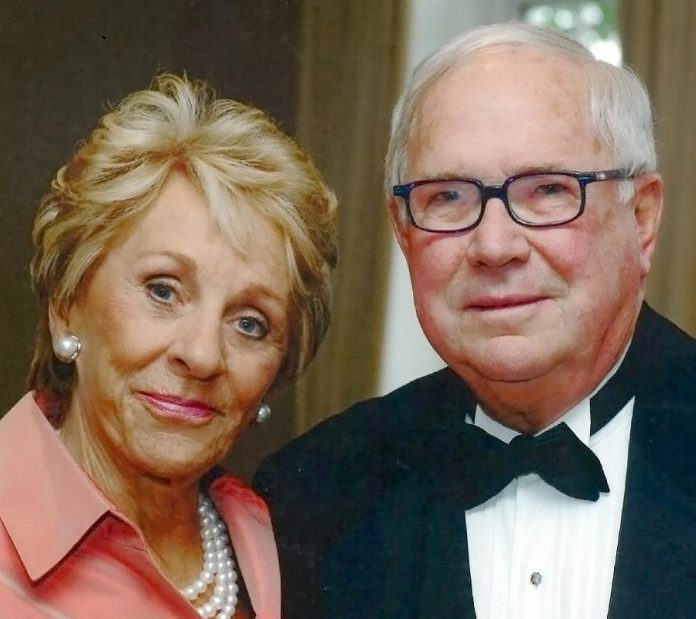 Toronto-based philanthropists Kathy and George Dembroski, who have made a $500,000 gift to The Canadian Canoe Museum. (Supplied graphic)