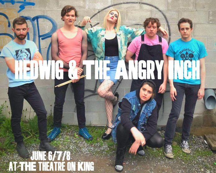 """Hedwig and the Angry Inch"" runs for four performances from June 6 to 8, 2019 at The Theatre on King in downtown Peterborough. (Photo courtesy of F.0. Theatrics)"
