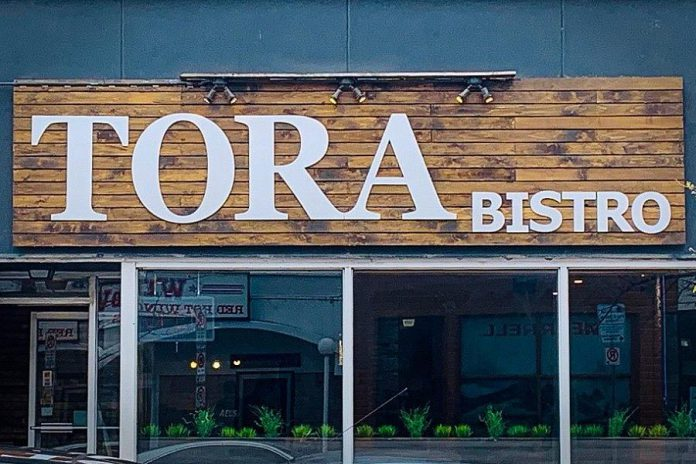 Tora Bistro in downtown Peterborough opened its doors in May of 2019. (Photo: Madeline Gingrass)