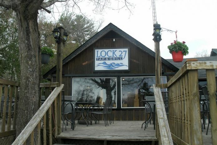 Lock 27 Tap and Grill opened this spring in Young's Point. (Photo: Lock 27 Tap and Grill)