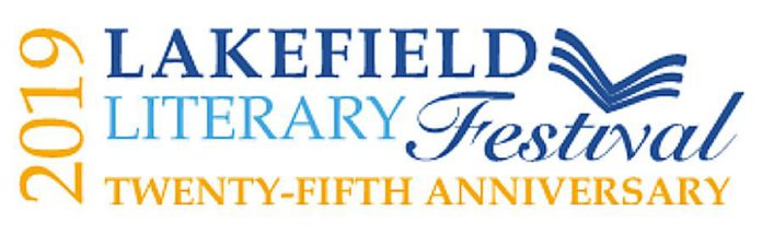 Originally established in 1995 as a celebration of Margaret Laurence, who lived in Lakefield until her death in 1987, the Lakefield Literary Festival is celebrating its 25th anniversary in 2019. (Logo: Lakefield Literary Festival)