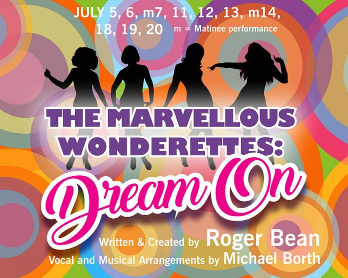 "Tickets are now available for Peterborough Theatre Guild's production of ""The Marvellous Wonderettes: Dream On"". (Graphic: We Design)"