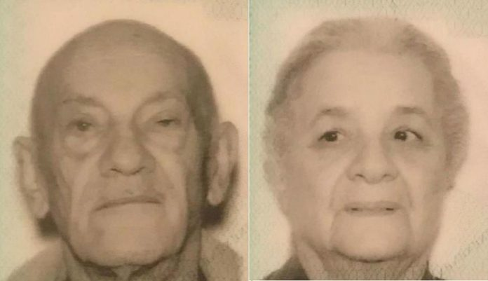 83-year-old Nickolas Missios and 83-year-old Aspasia Missios of Scarborough were reported missing on June 6, 2019. Police have now confirmed the two bodies found in in a submerged car near Brighton on June 17, 2019 are those of the couple. (Photos supplied by Toronto Police)