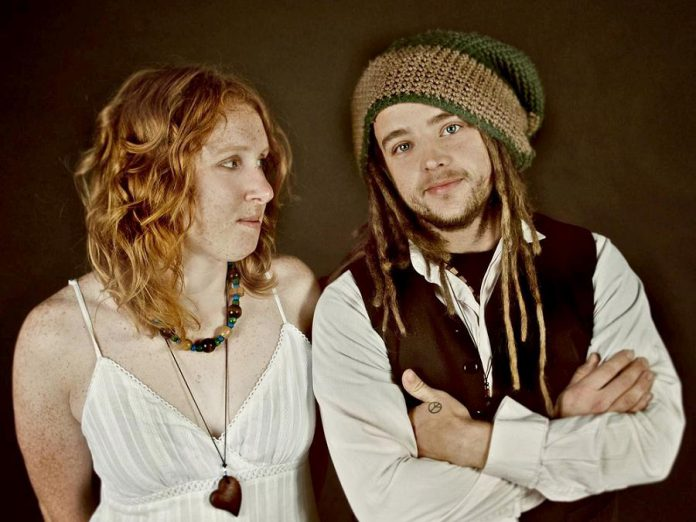 Kawartha Lakes husband-and-wife indie folk duo Sly Violet (Violet Clarke and Sly Boston) are performing an afternoon show on Canada Day at The Cow & Sow Eatery in Fenelon Falls. (Photo: Sly Violet)