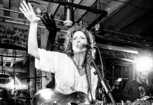 Kathleen Edwards (pictured here at the 2017 Juno Awards weekend party in Ottawa) and Matt Hays will perform at the 2019 Peterborough Folk Festival on Sunday, August 18th. (Photo: Scott Doubt Photography)