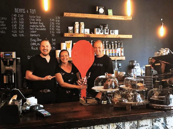 The Cork & Bean, which opened in downtown Peterborough last fall, is one of several local eateries participating for the first time in the 2019 Paint The Town Red fundraiser for the United Way on Wednesday, July 17th. In all, 35 restaurants, cafes, and pubs will be donating 25 per cent of their net sales to the United Way on Wednesday. (Photo courtesy of United Way of Peterborough and District)