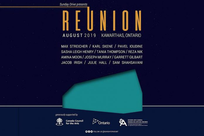 Sunday Drive's 'Reunion' will run during August at a secret location outside of Lakefield. (Graphic: Sunday Drive)
