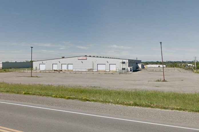 A cannabis production facility is being planned for the former Fleetwood facility north of Lindsay. (Photo: Google Maps)