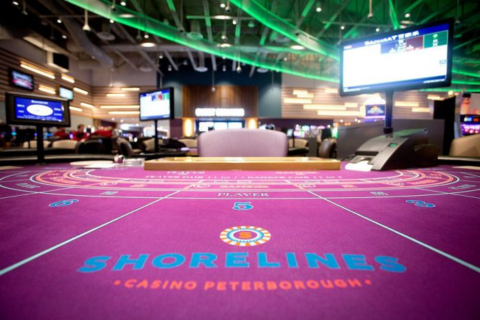 Shorelines Casino Peterborough is located at 1400 Crawford Drive. (Photo: Shorelines Casino Peterborough / Facebook)