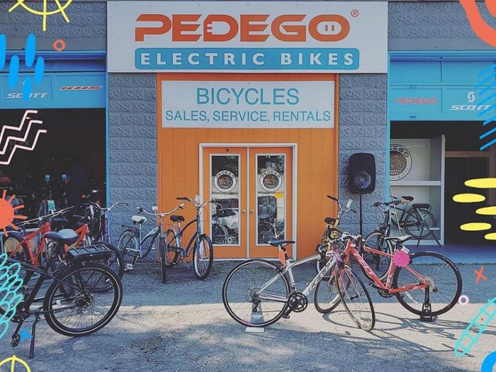 Pedego Kawartha Lakes is located at 66 William Street North in Lindsay. (Photo: Pedego Kawartha Lakes / Facebook)