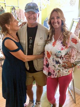 Canadian singer-songwriter and musician Murray McLauchlan and his wife Denise Donlon (not pictured) dropped by Tragically Hipp on July 26, 2019.  (Photo: Tragically Hipp / Facebook)