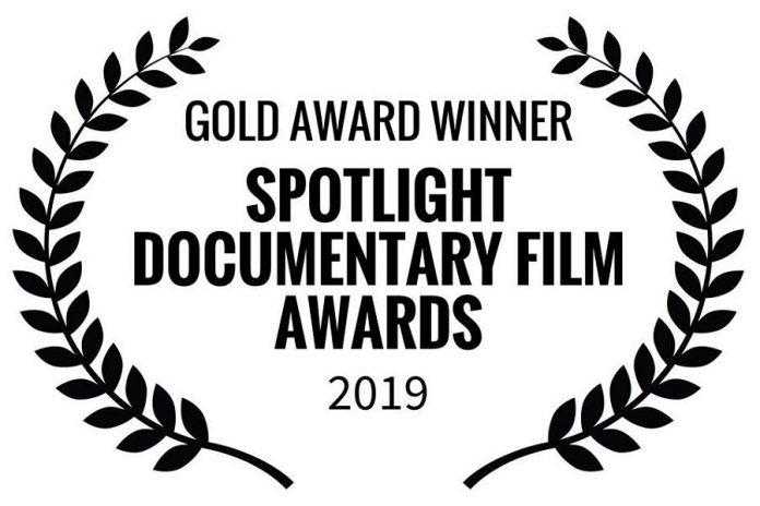 """Last Beer at the Pig's Ear"" has received a Gold Award from  Spotlight Documentary Film Awards. (Graphic: Spotlight Documentary Film Awards)"