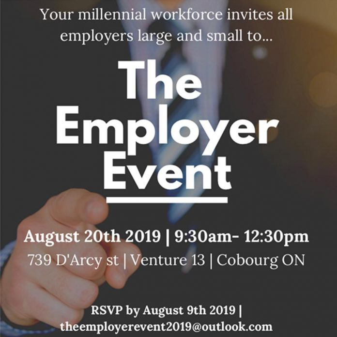 Venture13 hosts The Employer Event in Cobourg on August 20