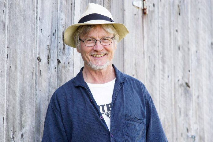 "4th Line Theatre founder and creative director Robert Winslow, who co-wrote ""Carmel"" with Ian McLachlan and directs the play, which runs from August 6 to 31, 2019 at the Winslow Farm in Millbrook.  (Photo: Bianca Nucaro / kawarthaNOW.com)"