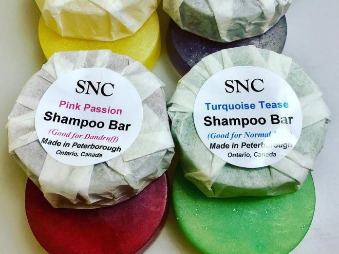 Peterborough artisan soap company Simply Natural Canada makes zero-waste shampoo and body soap bars in a variety of scents using ingredients like essential oils and coconut milk. (Photo: Simply Natural Canada / Facebook)