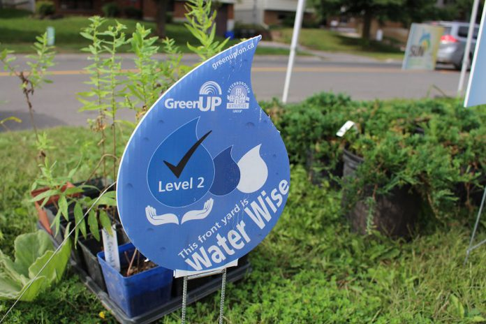 GreenUP is now recognizing Water Wise Lawns in the City of Peterborough. Nominate a home or business property today and, upon approval, receive one of these signs to display proudly. (Photo: GreenUP)